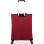 Antler Zeolite Medium 66cm Softside Suitcase Red 42616 - 1