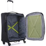 Antler Zeolite Medium 66cm Softside Suitcase Black 42616 - 4