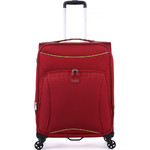 Antler Zeolite Medium 66cm Softside Suitcase Red 42616 - 3
