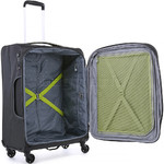Antler Zeolite Medium 66cm Softside Suitcase Charcoal 42616 - 4