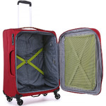 Antler Zeolite Medium 66cm Softside Suitcase Red 42616 - 4