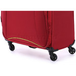 Antler Zeolite Medium 66cm Softside Suitcase Red 42616 - 7