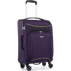 Antler Zeolite Small/Cabin 56cm Softside Suitcase Purple 42626