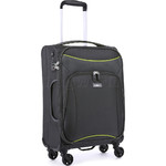 Antler Zeolite Small/Cabin 56cm Softside Suitcase Charcoal 42626