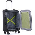 Antler Zeolite Small/Cabin 56cm Softside Suitcase Black 42626 - 4