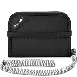 Pacsafe RFIDsafe V50 RFID Blocking Compact Wallet Black 10551