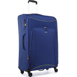 Antler Zeolite Large 80cm Softside Suitcase Blue 42615