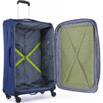 Antler Zeolite Large 80cm Softside Suitcase Blue 42615 - 4