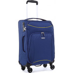 Antler Zeolite Small/Cabin 56cm Softside Suitcase Blue 42626