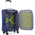 Antler Zeolite Small/Cabin 56cm Softside Suitcase Blue 42626 - 4