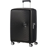American Tourister Curio Medium 69cm Hardside Suitcase Black 86229