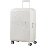 American Tourister Curio Medium 69cm Hardside Suitcase White 86229