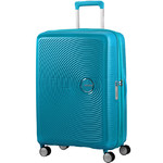 American Tourister Curio Medium 69cm Hardside Suitcase Turquoise 86229