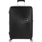 American Tourister Curio Hardside Suitcase Set of 3 Black 87999, 86229, 86230 with FREE Samsonite Luggage Scale 34042 - 2