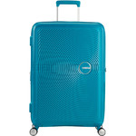 American Tourister Curio Hardside Suitcase Set of 3 Turquoise 87999, 86229, 86230 with FREE Samsonite Luggage Scale 34042 - 2