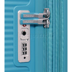 American Tourister Curio Hardside Suitcase Set of 3 Turquoise 87999, 86229, 86230 with FREE Samsonite Luggage Scale 34042 - 4