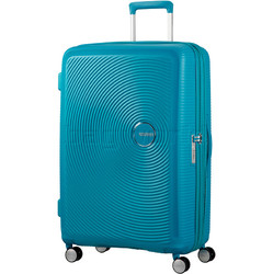 American Tourister Curio Large 80cm Hardside Suitcase Turquoise 86230