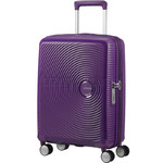 American Tourister Curio Small/Cabin 55cm Expandable Hardside Suitcase Purple 87999
