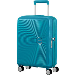 American Tourister Curio Small/Cabin 55cm Hardside Suitcase Turquoise 87999