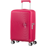 American Tourister Curio Small/Cabin 55cm Expandable Hardside Suitcase Pink 87999
