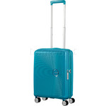 American Tourister Curio Small/Cabin 55cm Hardside Suitcase Turquoise 87999 - 2