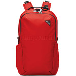"""Pacsafe Vibe 25L Anti-Theft 13.3"""" Laptop/Tablet Backpack Red 60301"""