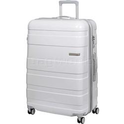 American Tourister HS MV+ Deluxe Large 79cm Expandable Hardside Suitcase White Checks 88210