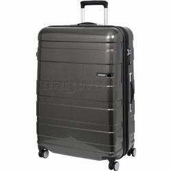 American Tourister HS MV+ Deluxe Large 79cm Expandable Hardside Suitcase Black Checks 88210