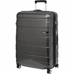 American Tourister HS MV+ Deluxe Large 79cm Expandable Hardside Suitcase Black Checks 88210
