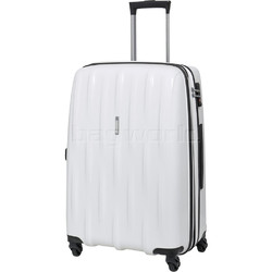 American Tourister Waverider Medium 66cm Hardside Suitcase Pure White 70413