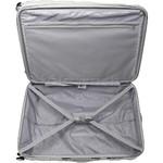 American Tourister HS MV+ Deluxe Large 79cm Expandable Hardside Suitcase White Checks 88210 - 3