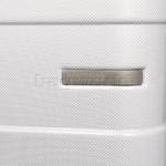 American Tourister HS MV+ Deluxe Large 79cm Expandable Hardside Suitcase White Checks 88210 - 6