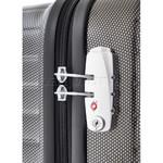 American Tourister Dartz Medium 65cm Hardside Suitcase Black Checks 87024 - 4