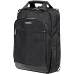 "Qantas Business 15.6"" Laptop & Tablet Convertible Backpack/Briefcase QF3"