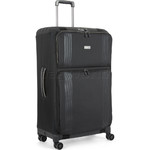 Antler Titus Large 83cm Softside Suitcase Black 90622