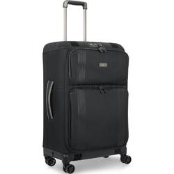 Antler Titus Medium 69cm Softside Suitcase Black 90623