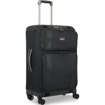 Antler Titus Medium 69cm Softside Suitcase Black 90623