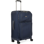 Antler Titus Medium 69cm Softside Suitcase Navy 90623