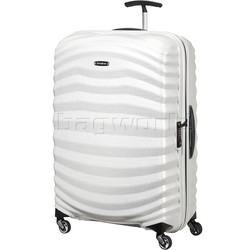 Samsonite Lite-Shock Large 75cm Hardsided Suitcase White 62766