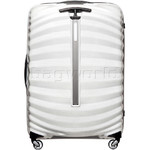 Samsonite Lite-Shock Large 75cm Hardsided Suitcase White 62766 - 1