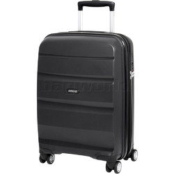 American Tourister Bon Air Deluxe Small/Cabin 55cm Hardside Suitcase Black 87851