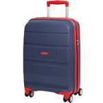 American Tourister Bon Air Deluxe Small/Cabin 55cm Expandable Hardside Suitcase Marine Blue 87851