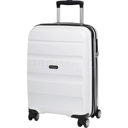 American Tourister Bon Air Deluxe Small/Cabin 55cm Hardside Suitcase White 87851