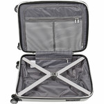 American Tourister Bon Air Deluxe Small/Cabin 55cm Hardside Suitcase White 87851 - 3