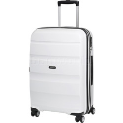 American Tourister Bon Air Deluxe Medium 66cm Hardside Suitcase White 87852