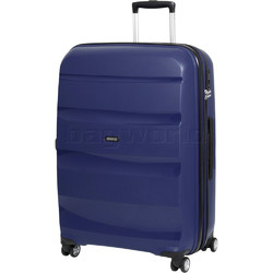 American Tourister Bon Air Deluxe Large 75cm Expandable Hardside Suitcase Midnight Navy 87853