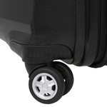 American Tourister Bon Air Deluxe Hardside Suitcase Set of 3 Black 87851, 87852, 87853 with FREE Samsonite Luggage Scale 34042 - 5