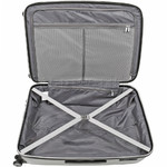 American Tourister Bon Air Deluxe Hardside Suitcase Set of 3 White 87851, 87852, 87853 with FREE Samsonite Luggage Scale 34042 - 3