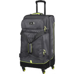 High Sierra AT Pivot 68cm 4 Wheel Spinner Duffel Mercury 88248