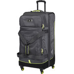 High Sierra AT Pivot Large 76cm 4 Wheel Spinner Duffel Mercury 88249